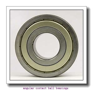 90 mm x 190 mm x 43 mm  FAG QJ318-N2-MPA angular contact ball bearings