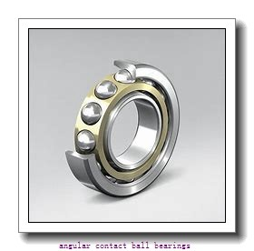 25 mm x 80 mm x 21 mm  ISO 7405 B angular contact ball bearings