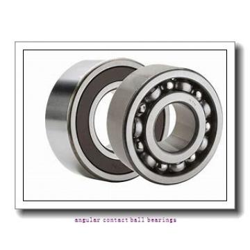 45 mm x 83 mm x 45 mm  NSK 45BWD06 angular contact ball bearings