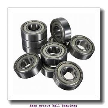 12,7 mm x 28,575 mm x 6,35 mm  ISB FR8 deep groove ball bearings