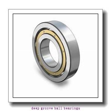 3 mm x 10 mm x 4 mm  ISO F623 deep groove ball bearings