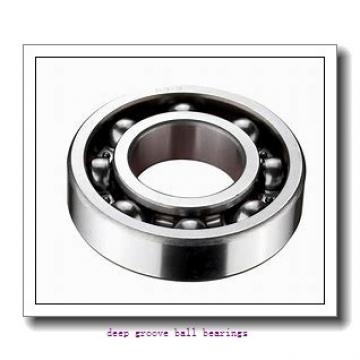 Toyana 6317ZZ deep groove ball bearings
