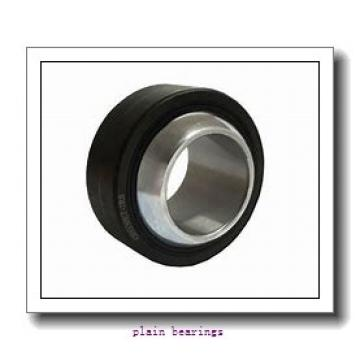 110 mm x 180 mm x 100 mm  FBJ GEG110ES plain bearings