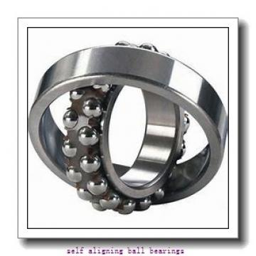 35 mm x 72 mm x 17 mm  FAG 1207-K-TVH-C3 + H207 self aligning ball bearings