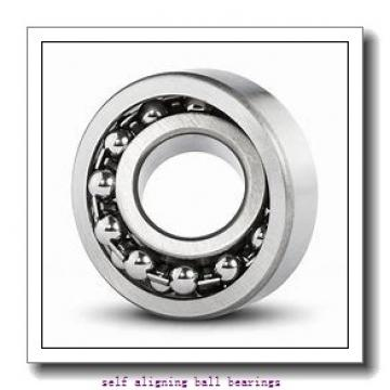 40 mm x 80 mm x 18 mm  ISO 1208K self aligning ball bearings