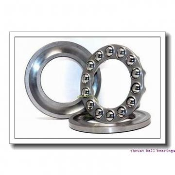 40 mm x 100 mm x 68 mm  INA ZKLF40100-2RS-2AP thrust ball bearings
