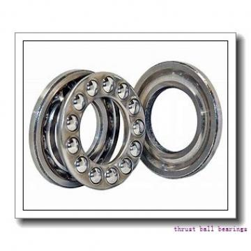 90 mm x 160 mm x 40 mm  SKF NUP 2218 ECP thrust ball bearings