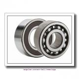 35 mm x 80 mm x 34,9 mm  FAG 3307-B-TVH angular contact ball bearings