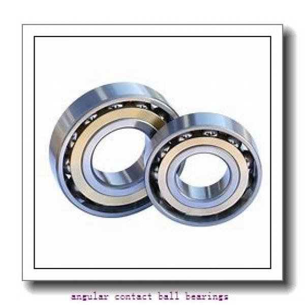 20 mm x 52 mm x 25,4 mm  NTN DF0455 angular contact ball bearings #1 image