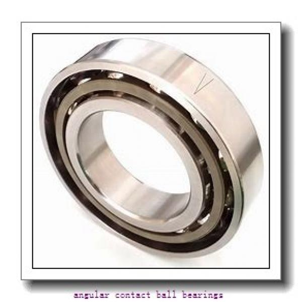 20 mm x 52 mm x 25,4 mm  NTN DF0455 angular contact ball bearings #2 image