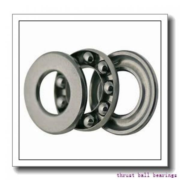 50 mm x 110 mm x 27 mm  SKF NJ 310 ECM thrust ball bearings #2 image
